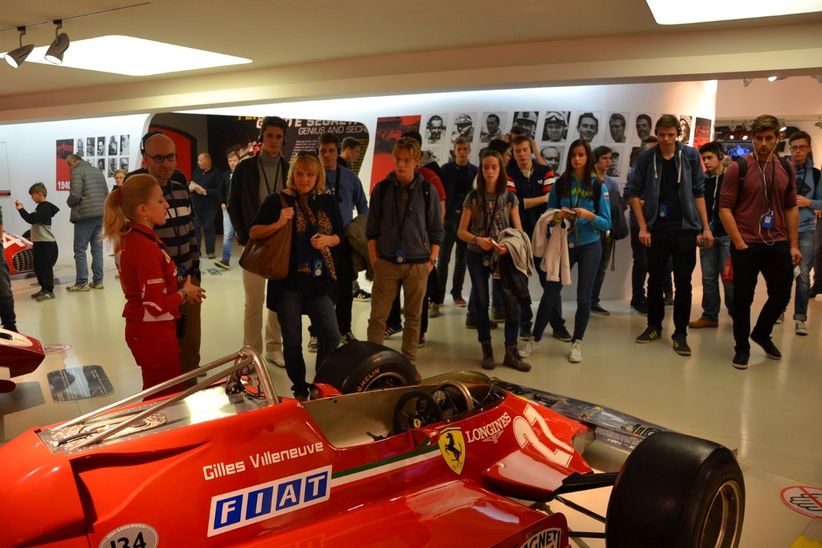 Ekskurzija v Maranello in  v San Marino